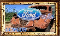 Der Ford ist fort