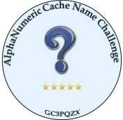 Alphanumeric Cache Name Challenge