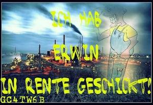 Erwin's letzte Schicht