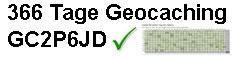 366 Geocaching Challenge