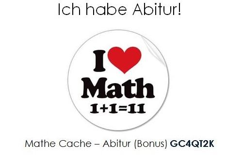 Mathe Cache - Abitur (Bonus)