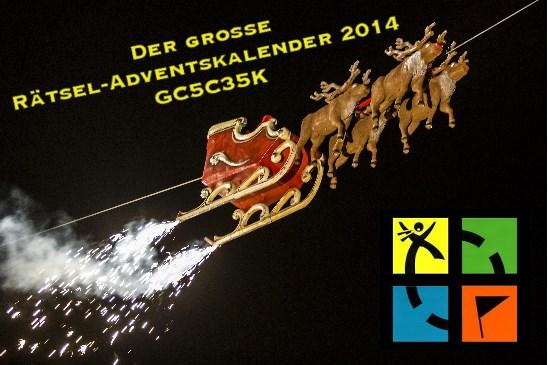 Der große Rätsel-Adventskalender 2014 (24.12.2014)